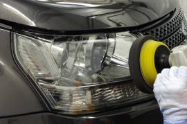 Head lamp cleaning